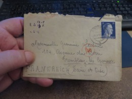LOT D'ENVIRON 10 Lettres MILITARIA, De CENSURE 1939/1945 Et Assimilées Guerre ,certaines Avec Contenue - Collections (sans Albums)