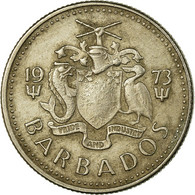 Monnaie, Barbados, 10 Cents, 1973, Franklin Mint, TB+, Copper-nickel, KM:12 - Barbades