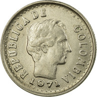 Monnaie, Colombie, 20 Centavos, 1971, TTB, Nickel Clad Steel, KM:245 - Bolivie