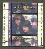 Sc. #1616d Cinema In Canada, Les Bons Debarras Used  1996 K123 - 1952-.... Règne D'Elizabeth II
