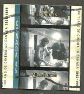 Sc. #1616c Cinema In Canada, Les Ordres Used  1996 K179 - 1952-.... Règne D'Elizabeth II