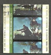 Sc. #1616e Cinema In Canada, Grey Fox Used  1996 K123 - 1952-.... Règne D'Elizabeth II