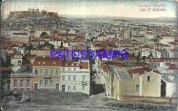 119661 GREECE ATHENES VIEW GENERAL BREAK POSTAL POSTCARD - Griechenland