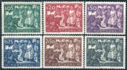 PORTUGAL - Y&T  N° 696-701 ** - 1910-... République