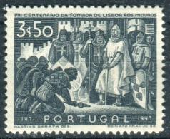 PORTUGAL - Y&T  N° 701 * - 1910-... République