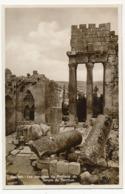 CPSM - BAALBEK (Liban) - Les Colonnes Du Pronaos Du Temple De Bacchus - Libano