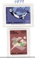 SPORT - OLYMPIC GAMES - 1971 - TURCHIA -  Mi. Nr.  2238/39 - NH - (6532-46) - 1921-... República