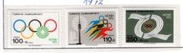 SPORT - OLYMPIC GAMES - 1972 - TURCHIA -  Mi. Nr.  2162/63 - NH - (6532-46) - 1921-... República
