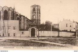 D66  PERPIGNAN  Cours Maintenon - Vue Extérieure De L' Etablissement  ... - Perpignan