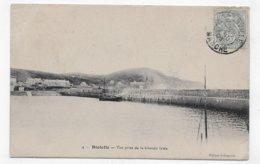 (RECTO / VERSO) DIELETTE EN 1905 - N° 4 - VUE PRISE DE LA GRANDE JETEE - BEAU CACHET - CPA VOYAGEE - Autres Communes