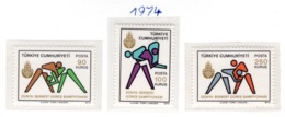 SPORT - OLYMPIC GAMES - 1974 - TURCHIA -  Mi. Nr.  2332/34 - NH - (6532-47) - 1921-... República