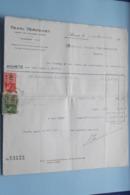 Henri VERVOORT Agent De CHANGE Agrée ANVERS > Acheté Anno 1941 ( Zie Foto's ) 5 Stuks ! - Banque & Assurance