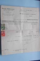Henri VERVOORT Agent De CHANGE Agrée ANVERS > Vendu Anno 1941 ( Zie Foto's ) 2 Stuks ! - Banque & Assurance