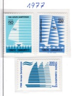 SPORT - OLYMPIC GAMES - 1977 - TURCHIA -  Mi. Nr.  2423/25 - NH - (6532-47) - 1921-... República