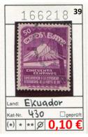 Ekuador - Ecuador - Michel 430  - Oo Oblit. Used Gebruikt - - Equateur