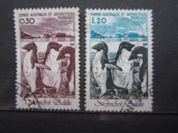 VEND BEAUX TIMBRES DES T.A.A.F. N° 86 + 87 !!! - Tierras Australes Y Antárticas Francesas (TAAF)