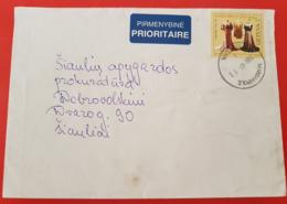 Lithuania Litauen Cover Sent From  Marijampolė To Siauliai 2009 - Lituania
