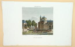 Ets 'Vue De Haarlem: Berckheyden', Begin 1820er/ Etching 'View On Haarlem' Early 1820s, Réville, Villerey, Vasserot - Prenten & Gravure