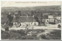 Environs De La Haye-du-Puits - LITHAIRE - Un Coin Pittoresque (belle Oblitération Militaire 1916) - France
