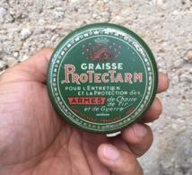 Ancienne Boite De Graisse Pour Arme Protectarm Collection Brocante Chasse - Scatole