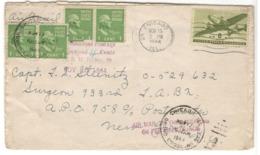 22152 - Additional Postage - Vereinigte Staaten