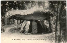 51en 1O13 CPA - METTRAY - LE DOLMEN - Mettray