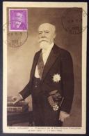 CM38 Carte Maximum 292 Paul Doumer Aurillac 11/1/1938 - 1930-39