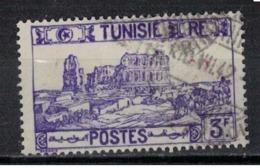 TUNISIE               N°     YVERT  220       OBLITERE       ( Ob  5/40 ) - Usados