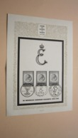 WERK Der OUDEN Van DAGEN 23-12-1965 ( Stempel Liège / Gent / Bruxelles ) In Memoriam Koningin Elisabeth 1876-1965 ! - Cartes Souvenir