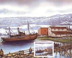 Polaire Antarctique - TAAF 2005 - Feuillet Du Carnet De Voyage 424 ** : Kerguelen Port Jeanne D'Arc 1908 - Terres Australes Et Antarctiques Françaises (TAAF)