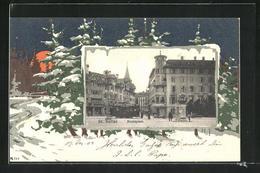 Passepartout-AK St. Gallen, Hechtplatz - SG St. Gallen