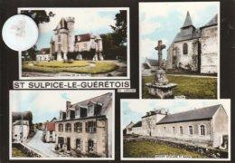 23 - Très Belle Carte Postale Semi Moderne Dentelée De  SAINT SULPICE  LE GUERETOIS   Multi Vues - Frankrijk