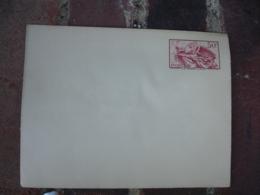 Enveloppe La Marseillaise 50 C  Entier Postal    Interieur Gris - Entiers Postaux