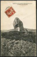 CP 42 Saint Julien-Moulin-Molette - Le Menhir De Colombier 1913 - France
