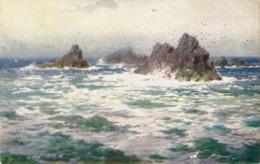"""H.B.Wimush..Falmouth"" Lot Of 5 Tuck Postcards, Views Of Falmouth, Ser. # 7072 - Tuck, Raphael"