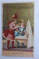 Kaufmannsbilder, Chocolat Guerin-Boutron, Kinder, Puppe, 1889, Paris   ♥  - Kaufmanns- Und Zigarettenbilder