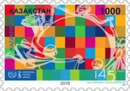 Kazakhstan 2019.UPU 145 Years.New!!! - U.P.U.