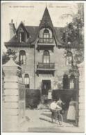 """SAINT PAIR SUR MER (Manche) Villa """"Bernadette"""" 1916 (oblitération Granville Et Militaire Belge) - Saint Pair Sur Mer"""