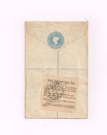 Entier Postal à 2 Pence.Recommandé.Expédié à Braunschweig (Allemagne) - Interi Postali