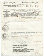 MAINE ET LOIRE De ANGERS Lettre Des HOSPICES Du 13/10/1829 - Manuscrits