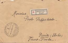 Rumänien: Einschreiben 1931 Bucuresti Nach Italien - Rumänien