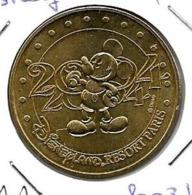 Jeton Touristique 77 Disney Resort 2004 2003b - Monnaie De Paris