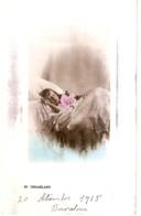 """Little Girl In Bed.  Dreamland""  Tuck Golden Childhood Ser. PC # 5228 - Tuck, Raphael"