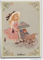 """VILLEROY Et BOCH - CARTE CERAMIQUE -  CERAM CARD - """" Miss Petticoat - Véritable Carrelage Décoré - Autres"""