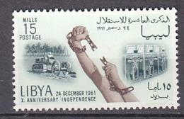 B0323 - LIBYA LIBYE Yv  N°201 ** INDEPENDANCE - Libye