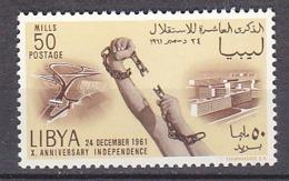 B0324 - LIBYA LIBYE Yv  N°202 ** INDEPENDANCE - Libye