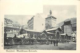 KARLSBAD - Marktbrunn Colonade. - Boehmen Und Maehren
