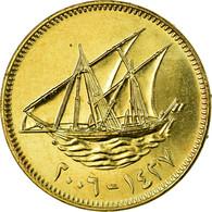 Monnaie, Kuwait, Jabir Ibn Ahmad, 10 Fils, 2006/AH1427, TB+, Nickel-brass, KM:11 - Koweït