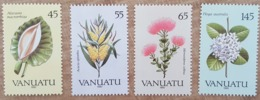 Vanuatu - YT N°838 à 841 - Flore / Fleurs - 1990 - Neufs - Vanuatu (1980-...)