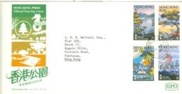 Hong Kong: 1980   Parks    FDC - Hong Kong (...-1997)